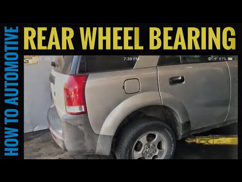 How to Replace the Rear Wheel Bearings on a 2002-2007 Saturn Vue