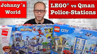 LEGO® vs. Qman - Battle of the Police Stations 60246 vs. 1937