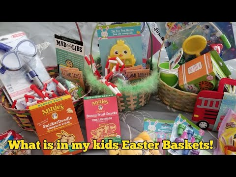 What is in my kids easter baskets 2018 easter basket ideas for 8 what is in my kids easter baskets 2018 easter basket ideas for 8 6 and 2 year old boys negle Gallery