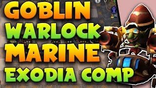 Goblin + Warlock + Marine is the EXODIA COMP [Unbeatable!] | Auto Chess Mobile