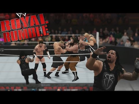 WWE 2K16 - Royal Rumble, podrá Roman Reigns sobrevivir a 30 Luchadores ?