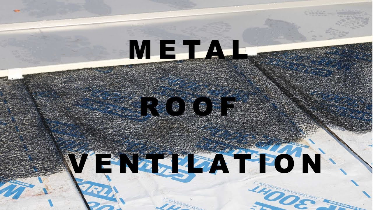 Preventing Condensation on Metal Roofs - YouTube