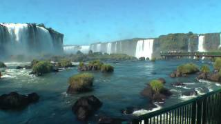 Brazil – Iguassu Falls,Brazilian side 2 – South America Part 14 – Travel Video HD