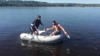 Москва - Сочи по воде (эпизод 5: заправка воды, рыбалка)