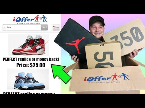 Buying The CHEAPEST And MOST LEGIT SNEAKERS OFF IOFFER!!!