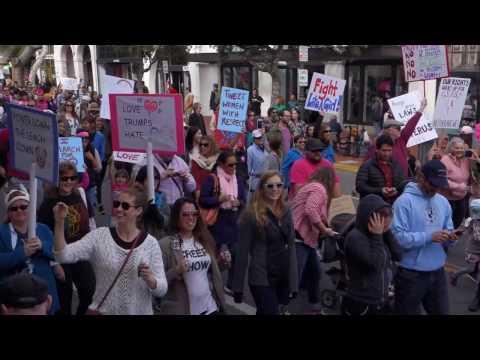 Women's March Against Trump Santa Barbara 20170121 187