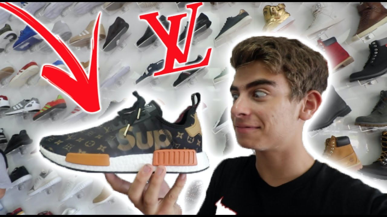 BUYING SUPREME X LOUIS VUITTON NMDs!! (My DREAM Shoe)