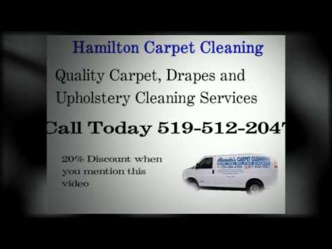 Hamilton Carpet Cleaning Services