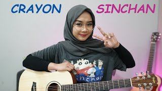 Ost Crayon Sinchan Opening Cover By Regita Echa