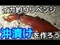 #1 イカの沖漬けが食べたい!イカ釣りリベンジ!!