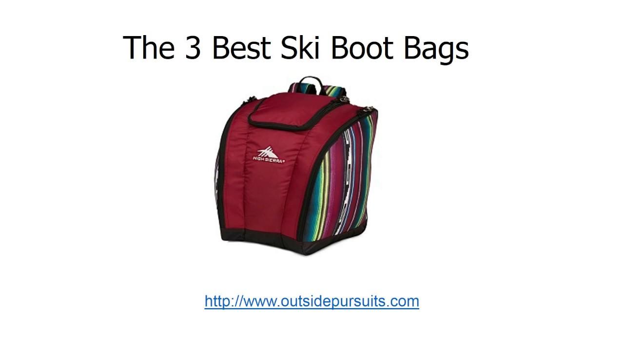 cf7f5816b8 Best Ski Boot Bags - YouTube