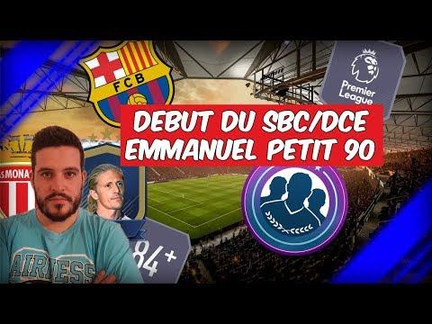 FIFA 18 - SBC/DCE EMMANUEL PETIT #1 - AS MONACO / FC BARCELONE / PREMIER LEAGUE / 84+ [FR]