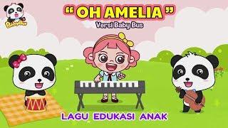 Amelia ♫ Lagu anak terbaru ❤ Kartun BabyBus ❤ Oh Amelia | Lagu Anak