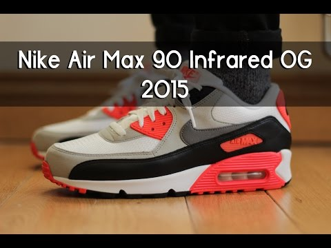 Nike Air Max 90 Infrared OG 2015 – Review + On feet