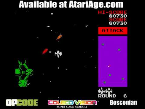 Bosconian by Opcode Games - ColecoVision Addict com