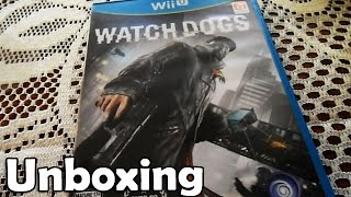 Unboxing | Watch Dogs Wii U