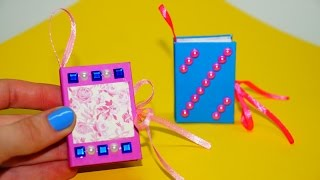 How to make easy mini notebooks | Mini notebook portatili Tutorial | DIY Mini Notebooks | Julia DIY