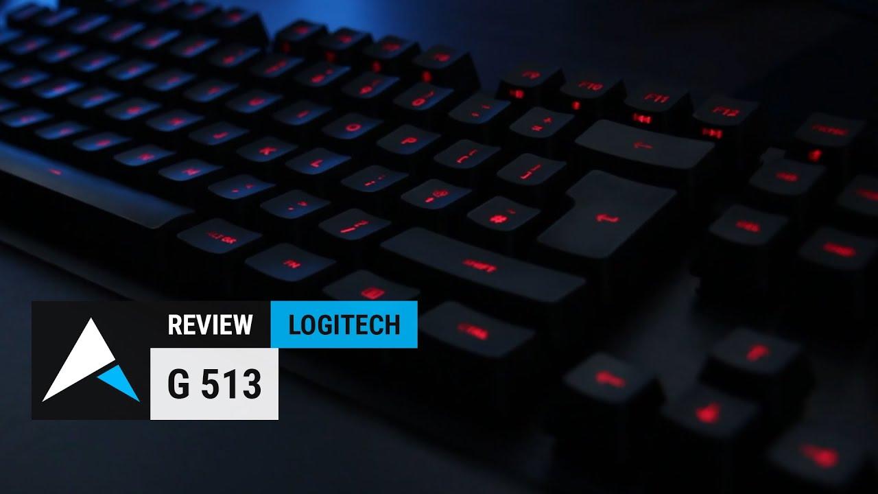 LogitechG G513 RGB Mechanical Gaming Keyboard Review (Romer-G Linear  Switches)