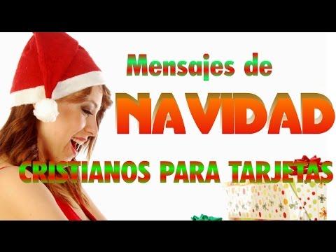 Mensajes de navidad cristianos para tarjetas youtube - Tarjetas navidenas cristianas ...