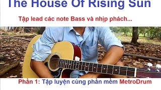 The House Of Rising Sun Guitar lead lesson part 1