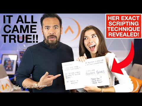 EVERYTHING She Wrote Down Came TRUE!! Scripting Success Stories - Manifestation is REAL!!