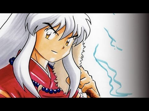 How To Color InuYasha with Copic Markers