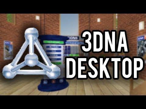 3DNA Desktop - A 3D Desktop Replacement For Windows 98-XP (Overview & Demo)