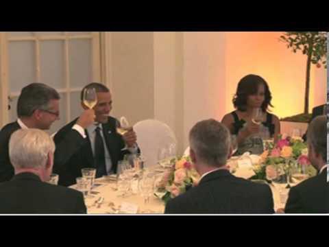 Merkel rolls out red carpet for Obama state dinner