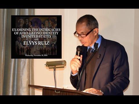 Elvys Ruiz: Examining the Intricacies of Afro Latino Identity in United States
