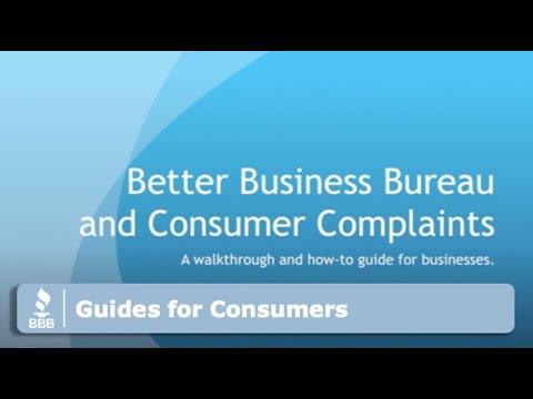Вопрос: Как написать жалобу в Better Business Bureau (BBB)?