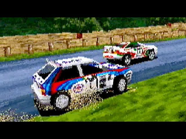 SEGA Rally Championship (1995) ALL Cars & Courses Playthrough / SEGA Saturn / iPlaySEGA