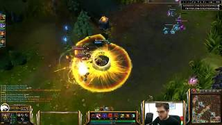Ocelote plays Malphite vs Jayce mid lane