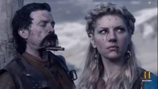 Einar Gets Painfully Castrated by the Beautiful Lagertha - The Vikings Seasons 4