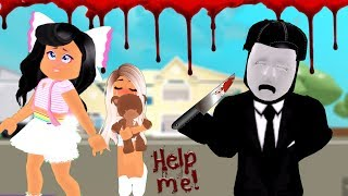 ROBLOX BREAK IN STORY!!! THE PURGE!! W/MY FAMILY