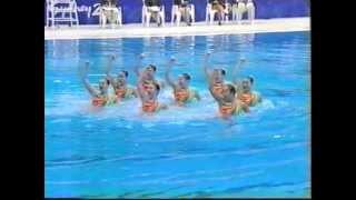 シドニーオリンピック シンクロ団体