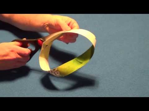 Mobius Ring Magic and Science Experiment.