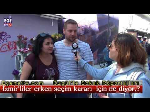 İzmir'liler erken seçim kararı  için ne diyor.?