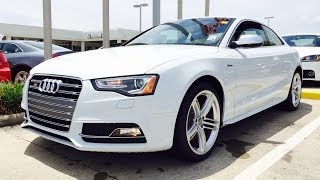 2014 Audi S5 Coupe Quattro Manual Exhaust, Start Up And In Depth Review