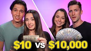 $10 DATE VS $10,000 DATE! - Merrell Twins