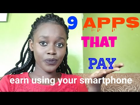 Apps that make you real money. How to make money online using your phone, get paid through mpesa