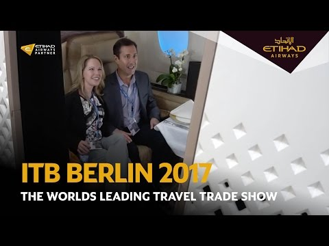 Etihad Airways at ITB Berlin 2017