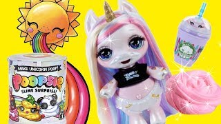 SWTAD video. This lovely unicorn doll turns what she eats into shin...
