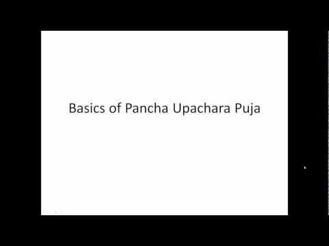 Basics of Pancha Upachara Puja - YouTube