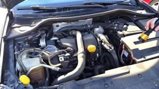 Осмотр Двух Renault Laguna 2011