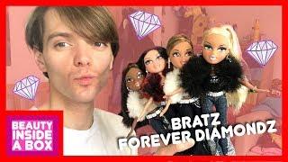 Скачать Bratz Forever Diamondz Cloe Yasmin Sasha Sharidan Doll Review Beauty Inside A Box