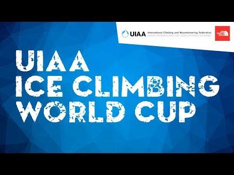 LIVE! Lead Final Male & Female l UIAA Ice Climbing World Cup 2018 l Cheongsong, South Korea