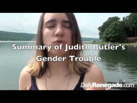Gender Trouble, Preface By Judith Butler, Summary by Helen, Daily Renegade