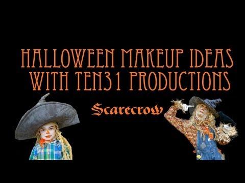 Halloween Makeup Ideas with TEN31: Scarecrow thumbnail