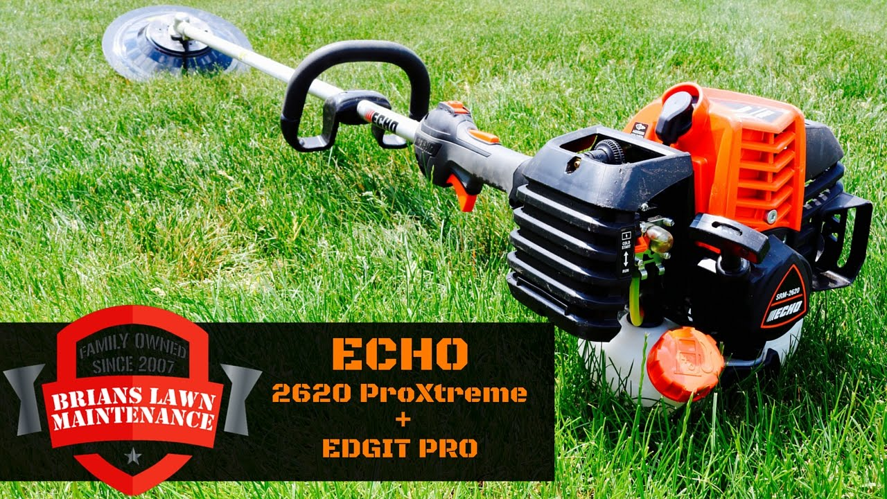 Edgit pro w echo 2620 proxtreme trimmer youtube greentooth Choice Image