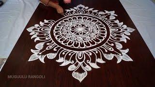 lotus kolam designs    rangoli designs o...